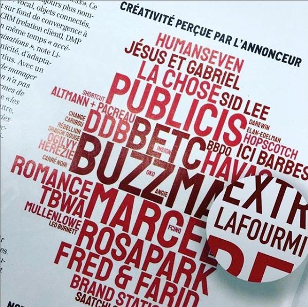 News_LAFOURMI_reconnue_barometre_annuel_metiers_communication_BVA_Limelight