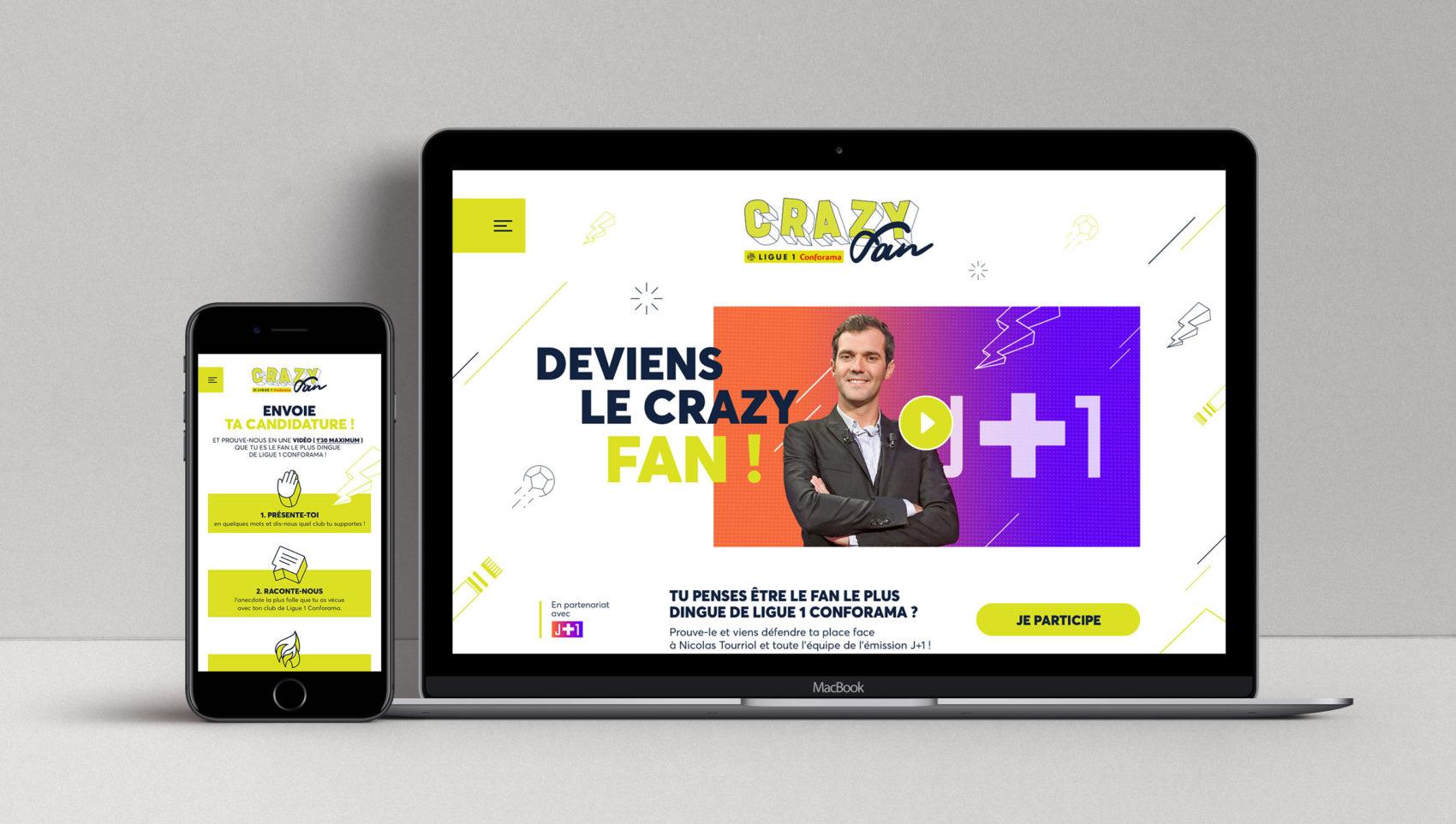 Projet_crazy_fan_Ligue_1_Conforama_LFP_Ligue_de_football_professionnel