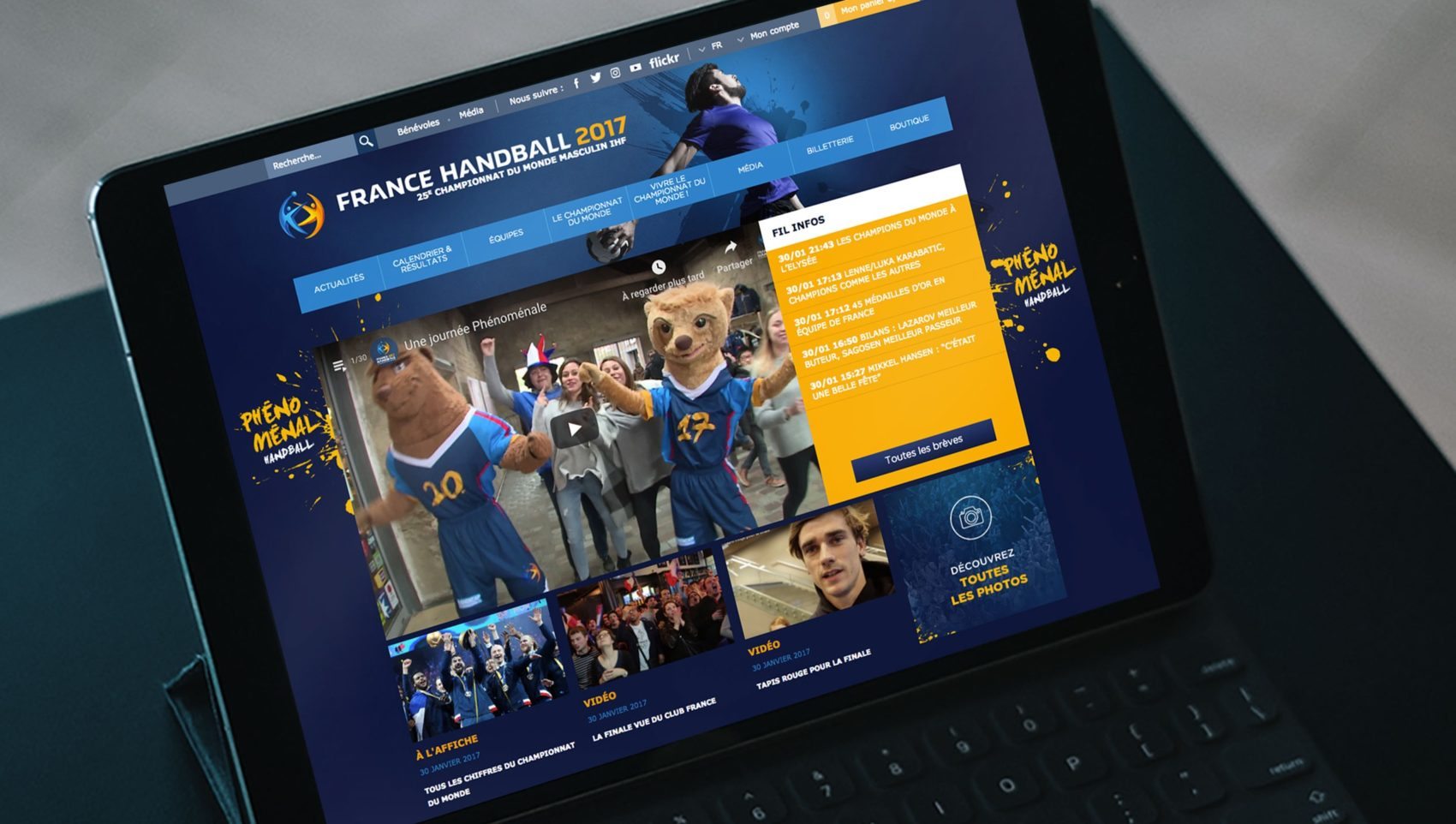 Projet_France_Handball_2017_site_web_website