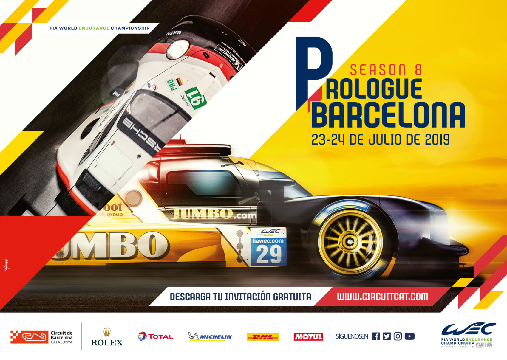 Projet_Project_WEC_FIA_world_endurance_championship_KV_barcelone