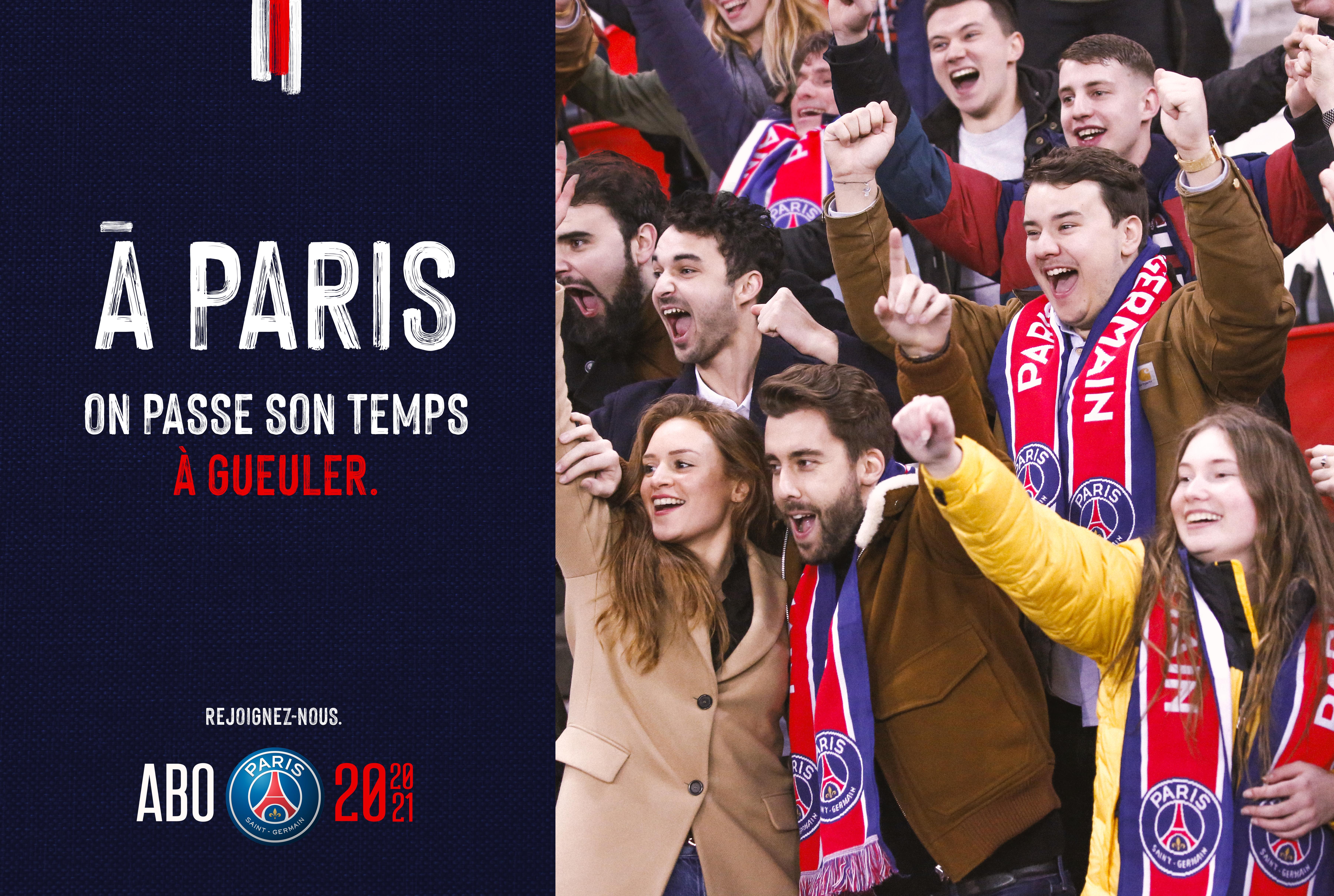 Visuel_supporters_crier_campagne_communication_marketing_abonnement_paris_saint_germain_football_psg_lafourmi