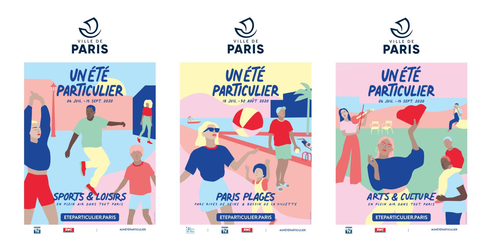 News_actualite_presse_ouverture_Paris_lance_Un_ete_particulier_campagne_communication_affiches_ville_de_paris_plages_programme_estival_2020_animation_pour_parisiens_parisiennes_lafourmi-1700x905